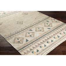 Essex Hand-Woven Brown/Green Area Rug