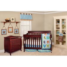 Alice Grace 4-in-1 Convertible 2 Piece Convertible Crib Set