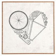 Love Bike Framed Graphic Art  by East Urban Home