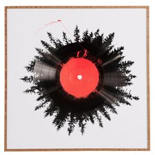 The Vinyl Of My Life Framed Graphic Art