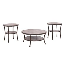 3 Piece Coffee Table and End Table Set by Madison Home USA