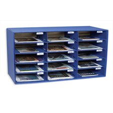 Stackable 15 Compartment Cubby