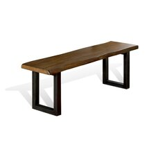 Osmonde Wood / Metal Dining Bench