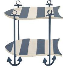 Malibu Ocean Nautical End Table by Urban Designs