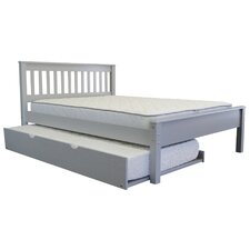 Full Panel Bed with Trundle by Bedz King