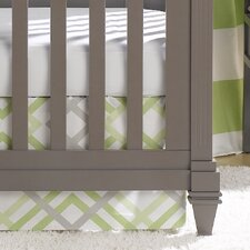 Easton Crib Skirt by Liz and Roo Fine Baby Bedding