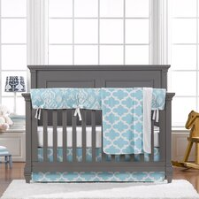 Trellis 4 Piece Crib Bedding Set by Liz and Roo Fine Baby Bedding