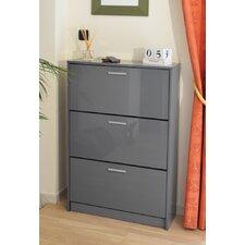 18-Pair Shoe Storage Cabinet