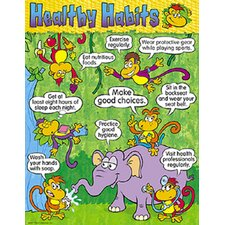 Healthy Habits Chart (Set of 3)