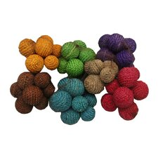 10 piece decorative orbs in net bag - Decorative Orbs