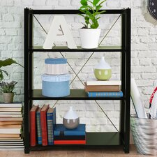 """Citiscape Folding/Stacking 38"""" Bookcase"""