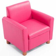 Children's Faux Leather Armchair