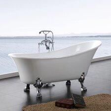 Dorya 69 x 28 Clawfoot Bathtub by A&E Bath and Shower