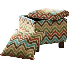 Shelley Ottoman by Madison Park