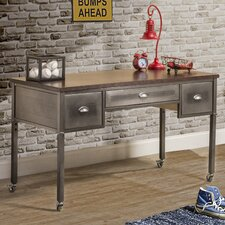 "Albert 52"" W Writing Desk with Casters"