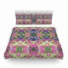 Cascade Reflections Abstract by Carolyn Greifeld Featherweight Duvet Cover