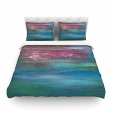 Bougainvillea Reflections by Cyndi Steen Featherweight Duvet Cover