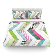 Fabric Much? Cloth by Heidi Jennings Featherweight Duvet Cover