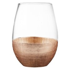Linen 20 oz. Stemless Glass (Set of 4)