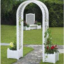 Rose Arch with Planters