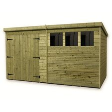 12 x 8 Wooden Garden Shed