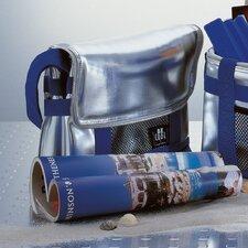 "10L Kühlbox ""Be Cool"" in Silber / Blau"