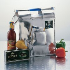 """13L Shopping-Bag """"Be Cool"""" in Silber"""
