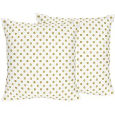 Amelia Cotton Throw Pillow (Set of 2)