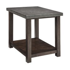 Jonah Chairside Table by 17 Stories