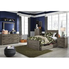 Aleah Storage Trundle Panel Customizable Bedroom Set