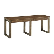 Desjardins Wood Dining Bench by Laurel Foundry Modern Farmhouse