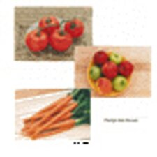 Fruits and Vegetables Poster Set