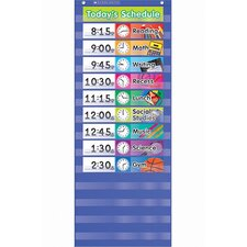 Daily Schedule Pocket Grade K-5 Chart