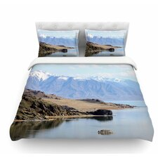 Mountain Reflection by Sylvia Coomes Nature Featherweight Duvet Cover