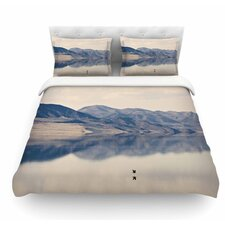 Reflective 1 by Sylvia Coomes Featherweight Duvet Cover