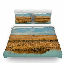 Reflective Landscape by Sylvia Coomes Featherweight Duvet Cover