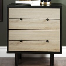 Morice 2 Drawer Nightstand by South Shore