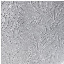 "Eden 33' x 20.5"" Abstract 3D Embossed Wallpaper Roll"