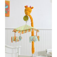 My ABCs Friends Musical Crib Mobile by Nurture Imagination