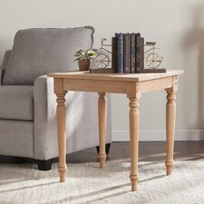 Cairnbrook End Table by Highland Dunes