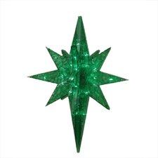 LED Lighted Twinkling 3D Bethlehem Star Hanging Christmas Decoration