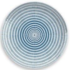 "Indochine Ikat 10.4"" Melamine Dinner Plate (Set of 6)"