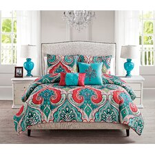 Olympic 4 Piece Twin Duvet Cover Set