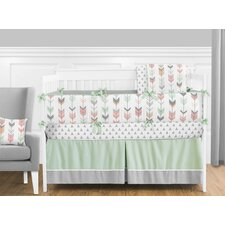 Mod Arrow 9 Piece Crib Bedding Set