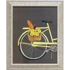 'Bicycle I' by Gwendolyn Babbitt Framed Graphic Art