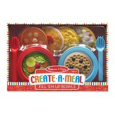 12 Piece Create a Meal Fill Em Up Bowl Set