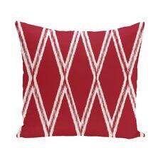 Beta Geometric Print Outdoor Pillow