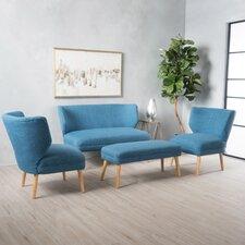 raleigh living room set - Blue Living Room Set