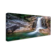 Lower Falls by Pierre Leclerc Photographic Print on Wrapped Canvas by Trademark Fine Art