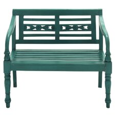 Wood Entryway Bench by Cole & Grey